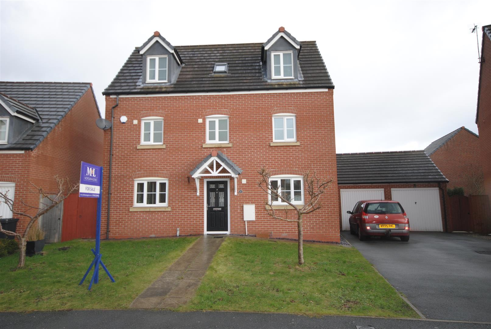 5 Bedrooms Detached House for sale in Chatsworth Fold, Ince, Wigan